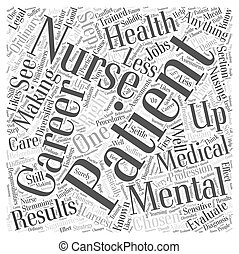Get The Right Nusing Careers In Mental Health Word Cloud Concept