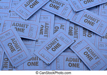 Get Your Tickets! - large pile of tickets that could be used...