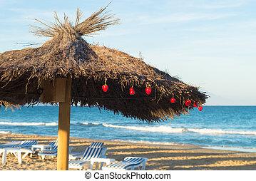 getaway inverno, praia