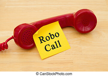 Getting a call from a Robocall