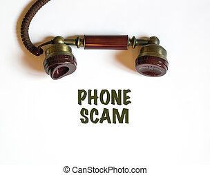 Getting a call that is a phone scam