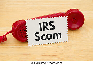 Getting a call that is an IRS Scam