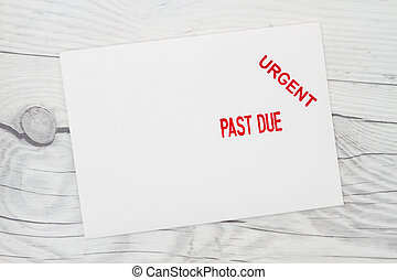 Getting a Past Due Notice