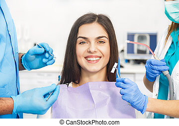 Getting Ready To Start Dental Examination