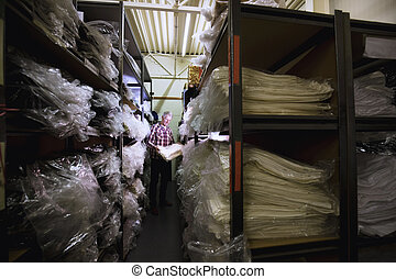 Getting Shop Stock From The Warehouse