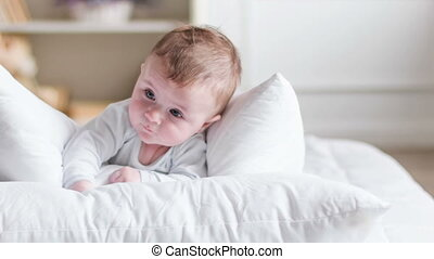Getting to know this world. - Sweet bundle of joy. Cute...