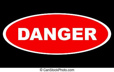 gevaar, logo