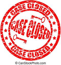 geval, gesloten