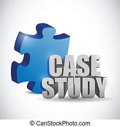 geval, raadsel, illustratie, studeren, stuk, teken.