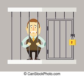gevangene, zakenman