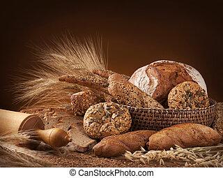 gevarieerd, brood