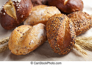gevarieerd, gezonde , brood