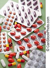 gevarieerd, pillen