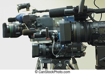 gevarieerd, videoapparatuur