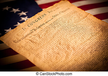 geverenigdene staten markeer, achtergrond, verklaring, onafhankelijkheid