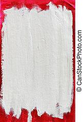 geverfde, doek, communie, textuur