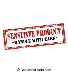 gevoelig, product-stamp