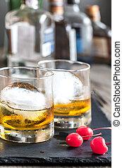 gevormd oud, cocktails