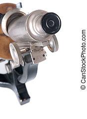 gevormd oud, microscoop