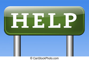 gevraagd, helpen