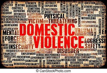 gewalttätigkeit, inländisch