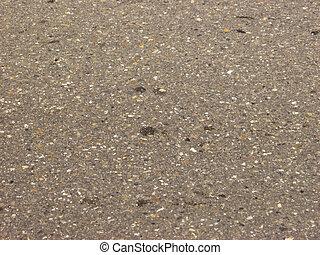 gewebe, asphalt