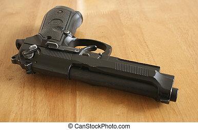 geweer, hand