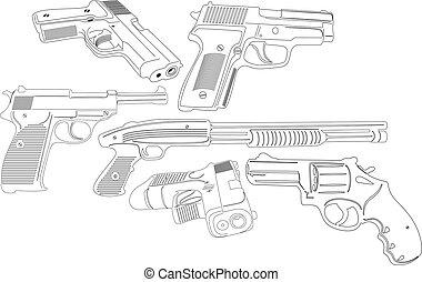 geweer, wapens