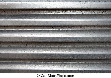 gewelfd, aluminium, oppervlakte