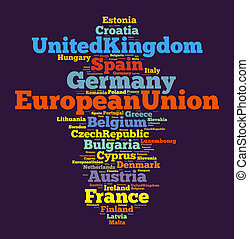 gewerkschaft, nationen, europäische