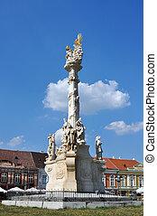 gewerkschaft, sqare, statue