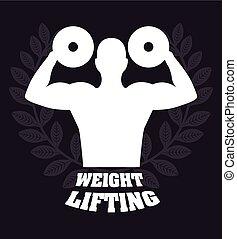 gewicht aufzuheben