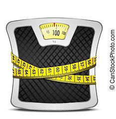 gewicht, concept