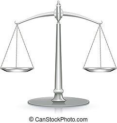 gewicht schaal, pictogram