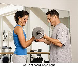 gewicht, workout