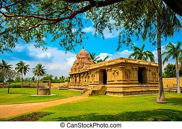 gewidmet, fragment, hindu, c, shiva, teil, architektur,...