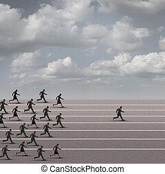 gewinnen, der, rennen