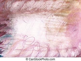 gewissen, watercolour, textuur