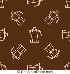 Geyser coffee maker pattern