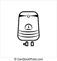 Geyser Icon, Design