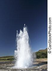 Geysir in Iceland
