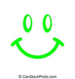 gezicht, smiley