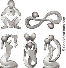 gezin, pictogram