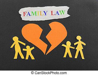 gezin, wet