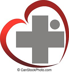 gezond hart, kruis