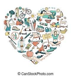 gezond hart, levensstijl, achtergrond