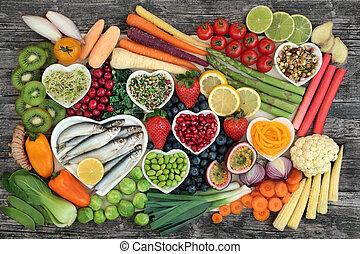 gezond voedsel, fantastisch, sampler