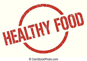 gezond voedsel, postzegel