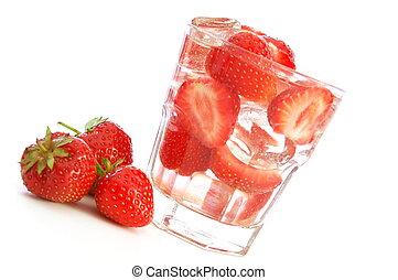 gezonde levensstijl, met, vruchten