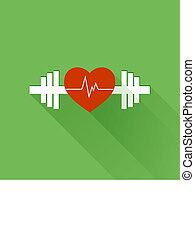 gezonde , sporten, vector
